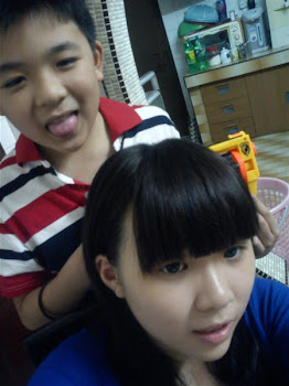 me n my small brother xDD