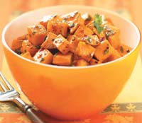 Weight Loss Recipes : Chipotle Orange Sweet Potatoes