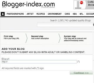 blogger-index divulga seus blogs grátis