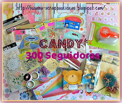 Sorteo en Scrapbook ideas