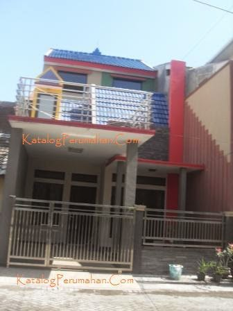 Salah satu rumah unik di Graha Sunan Ampel 1 Wiyung
