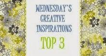 Topp 3 hos Creative Inspiration Challenge
