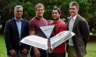 Robot Pajaro a Energia Solar