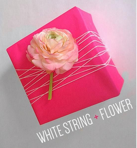 Neon Valentine's Day Gift Wrap