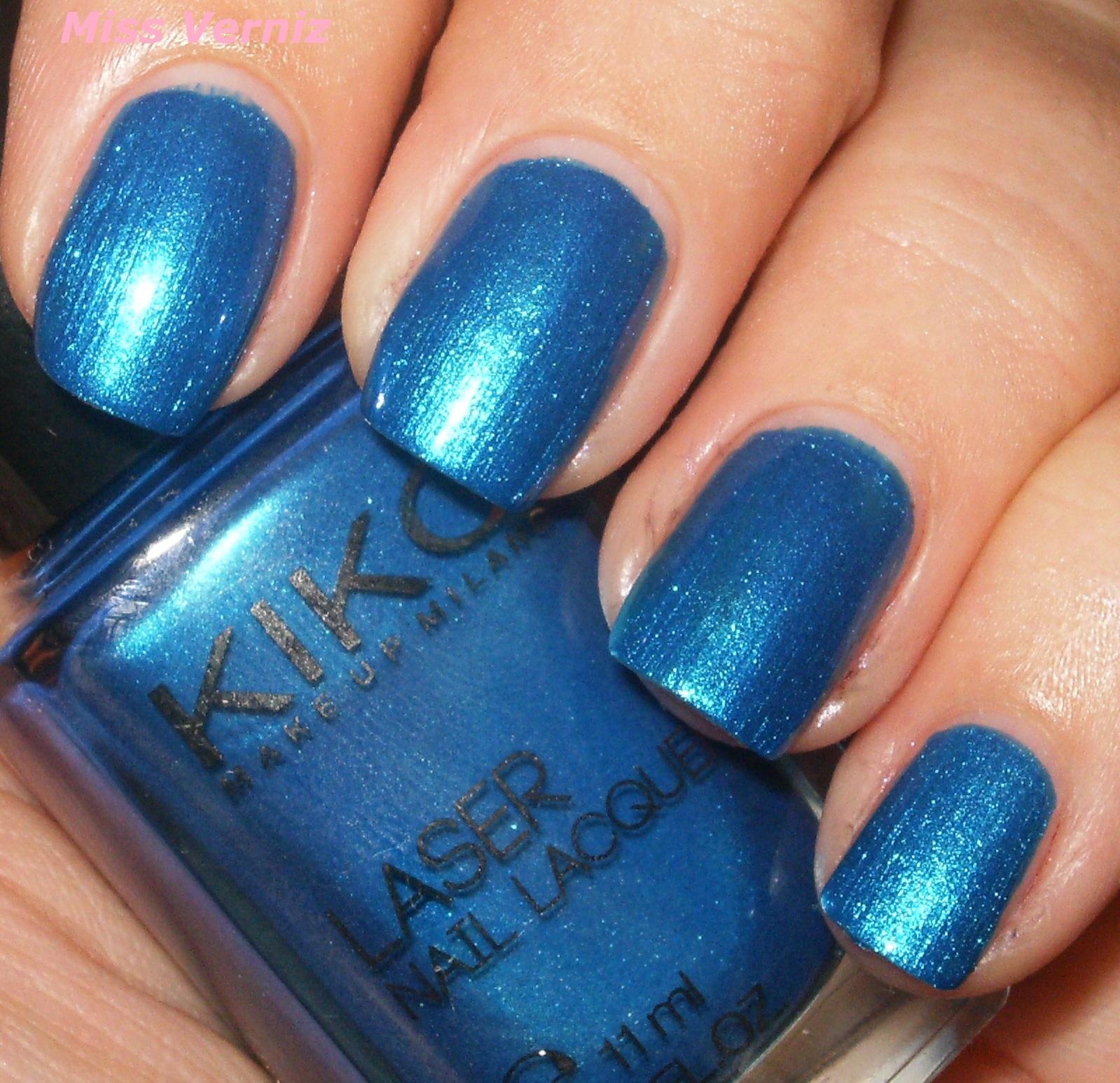 Miss Verniz: Kiko Laser Nail Lacquer Numero 434