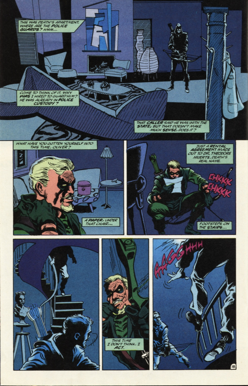 Deathstroke (1991) Issue #39 #44 - English 19