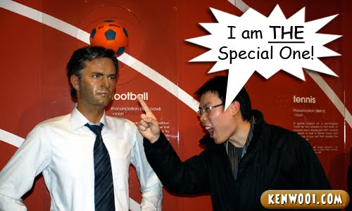 scolding mourinho