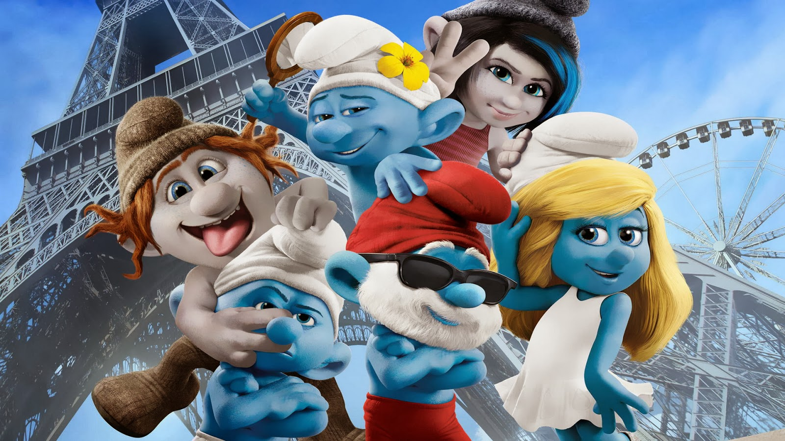 Gambar The Smurfs