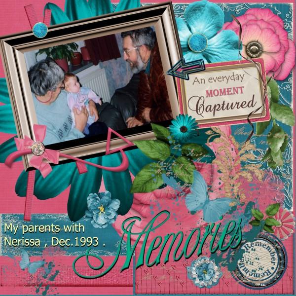 Feb.2016 – Nerissa and her grandparents.
