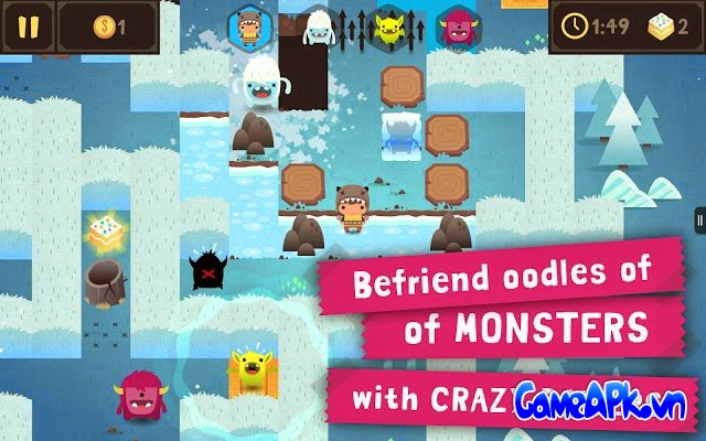 Monsters Ate My Birthday Cake v1.0.1 hack full tiền cho Android