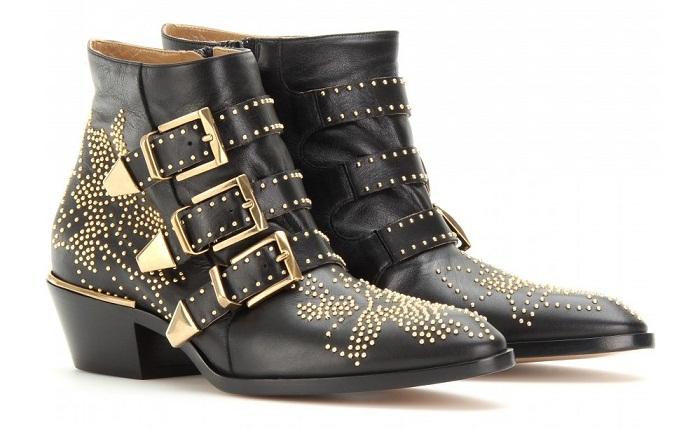 primped and primed dupe alert chloe studded ankle boots. Black Bedroom Furniture Sets. Home Design Ideas