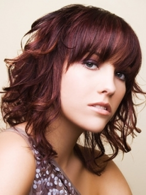 fashionable hair color ideas 2012