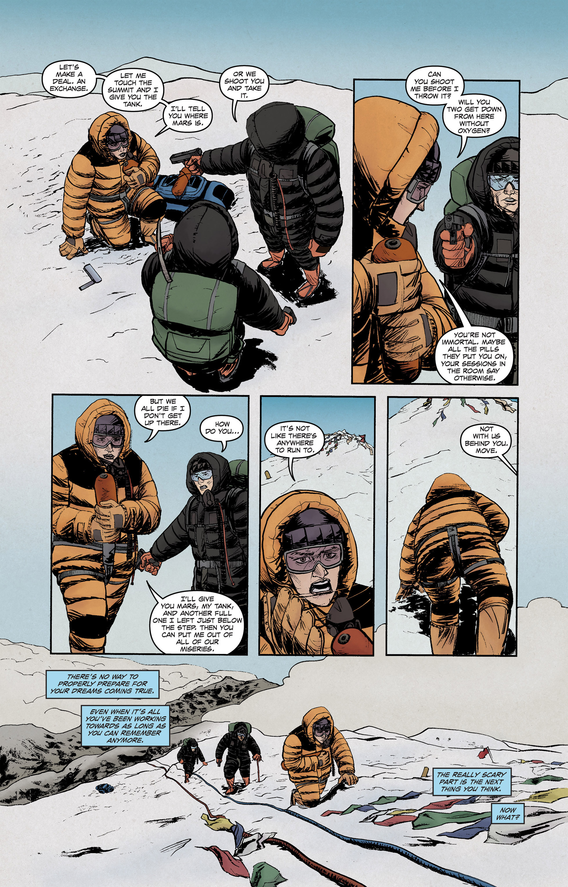 Read online High Crimes comic -  Issue #12 - 6