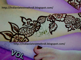 flower mehndi designs 2013 for arms 4