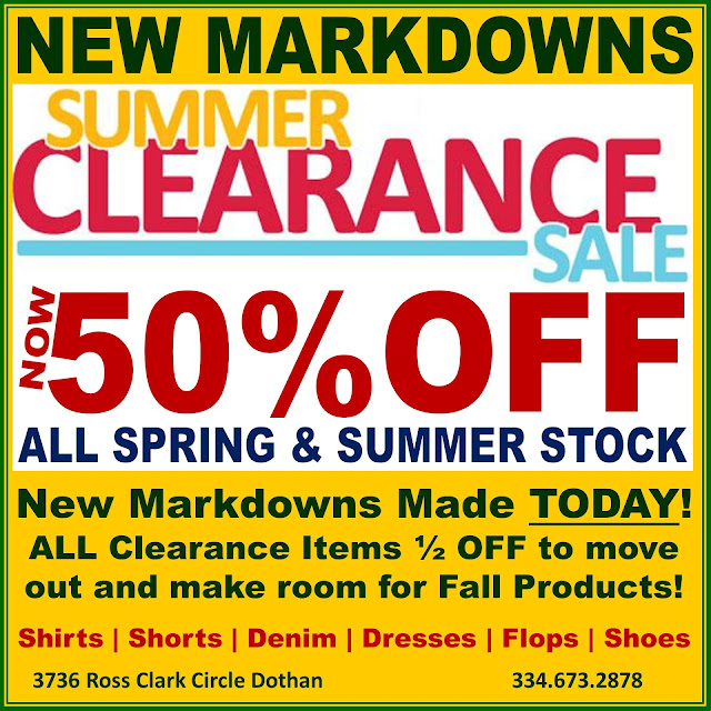 Eagle Eye Outfitters: Summer Clearance Sale!