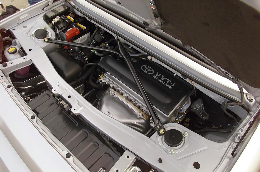 Toyota MR2, roadster, MK3, ZZW30, japoński samochód, dane techniczne, specyfikacja, wymiary, info, spalanie, waga, masa, raport, napęd, silnik, 1ZZ-FE