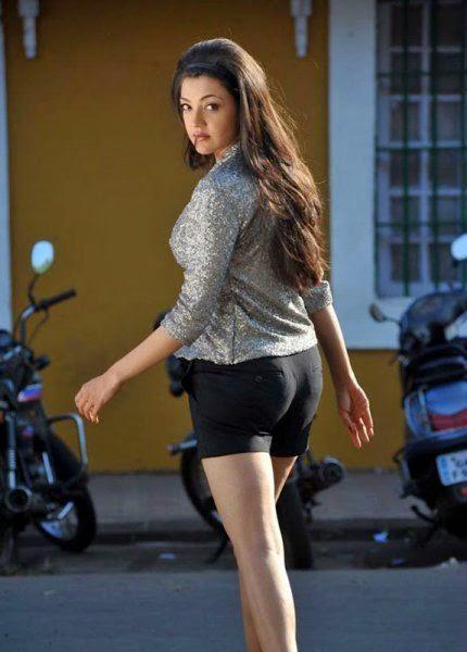 Sexy Back Side of Kajal Agarwal