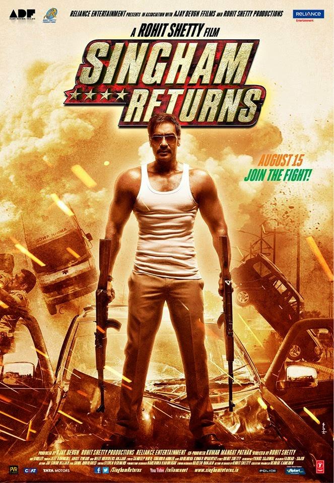 Singham Returns Poster