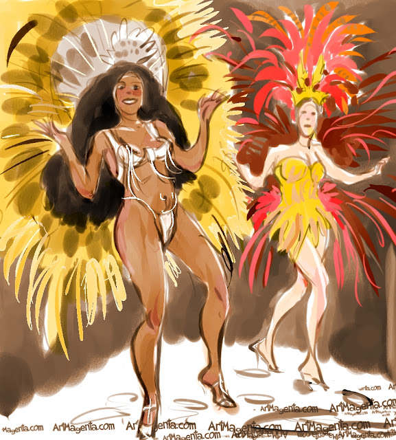 Rio Carnival is a sketch by Artmagenta