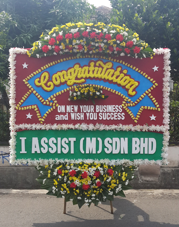 bunga peresmian organisasi