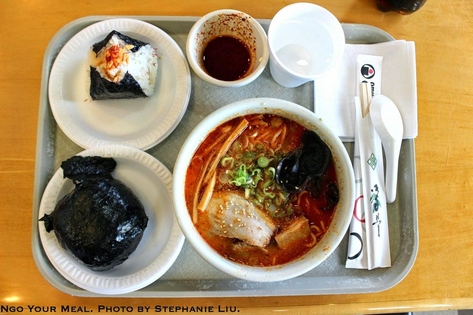 Spicy Miso Ramen at Santouka by Stephanie Liu