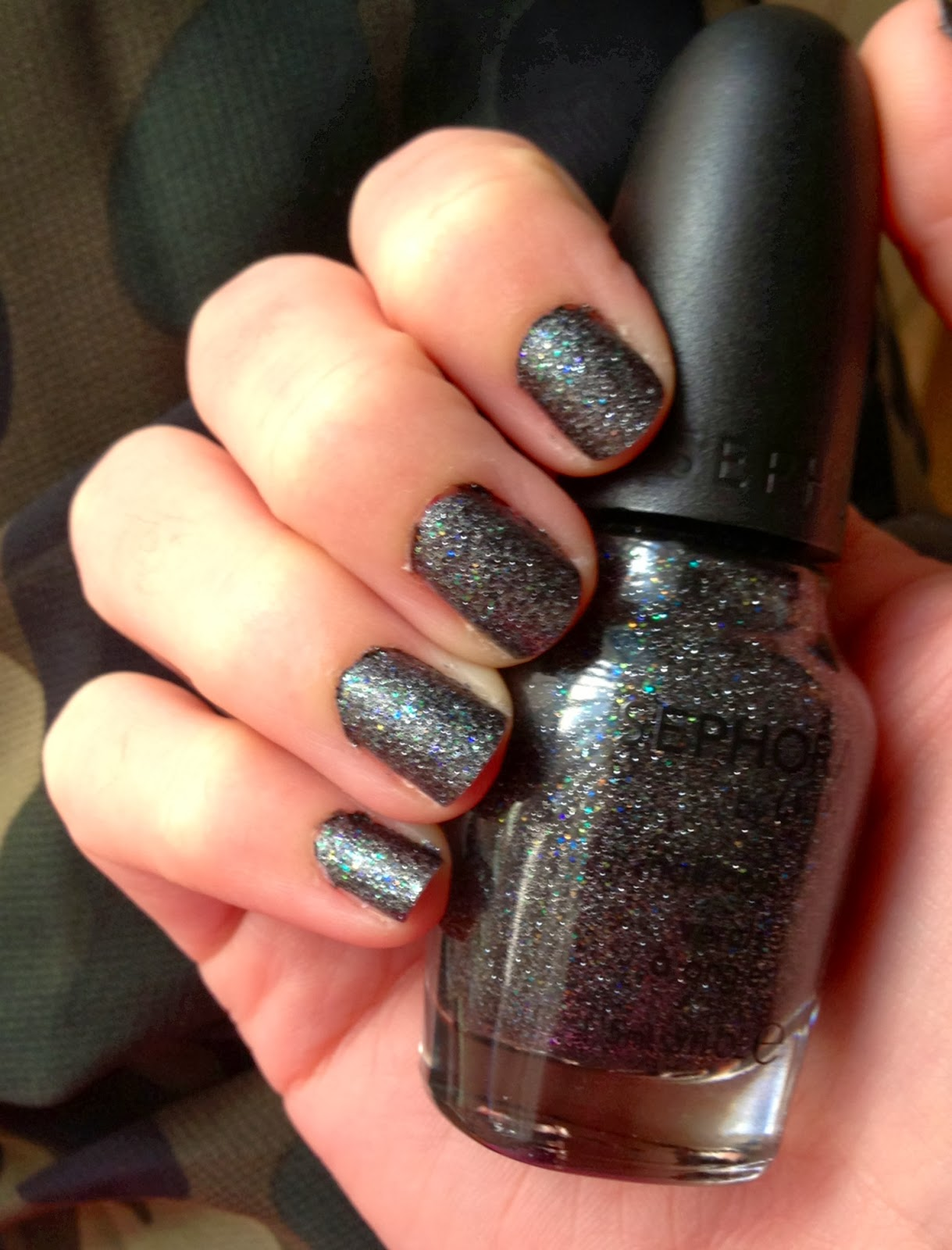 All Things Girly: Textured Nail Polish: Sephora by O.P.I Swatch