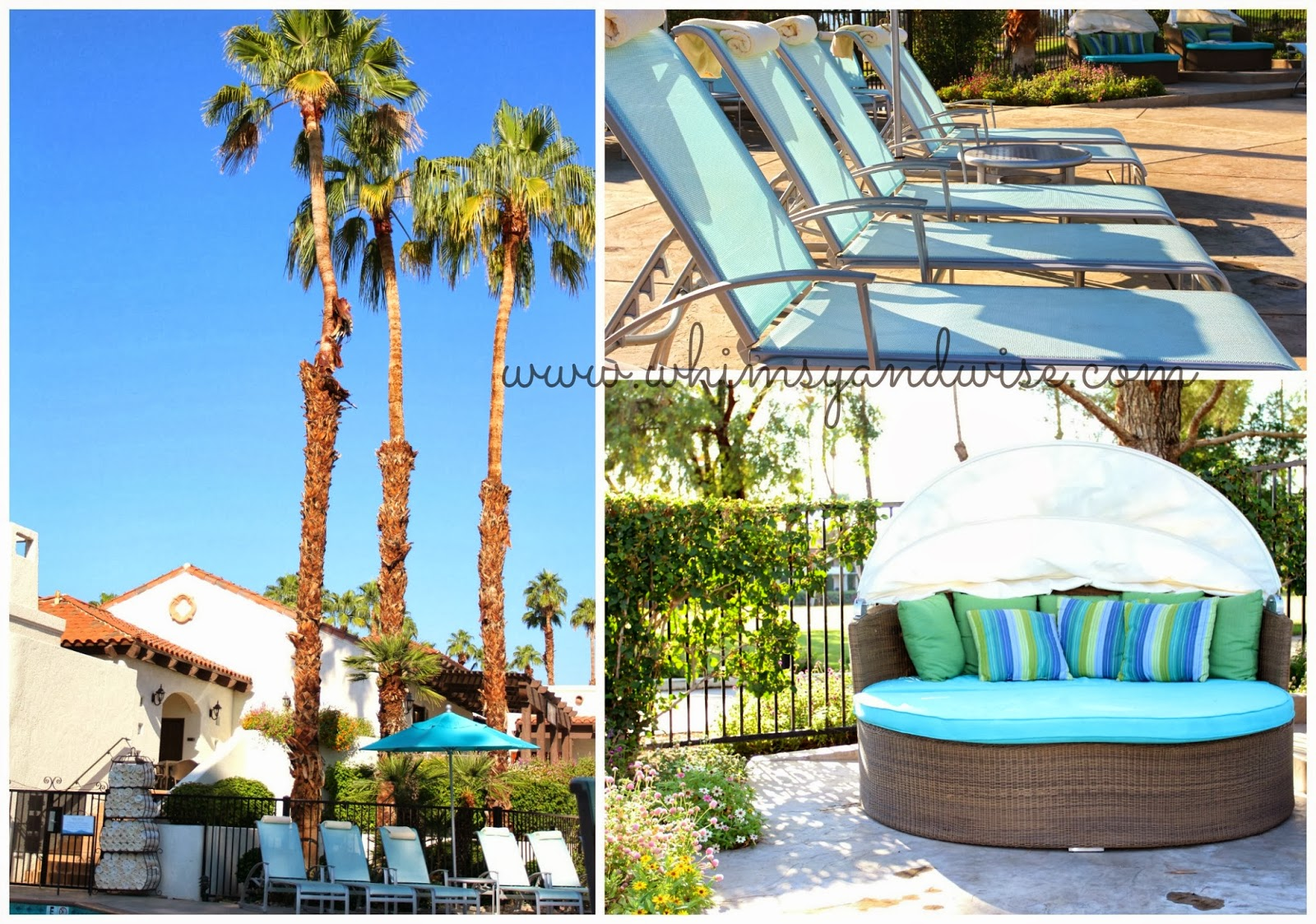 Whimsy wise events the rancho las palmas resort more for Travel to palm springs