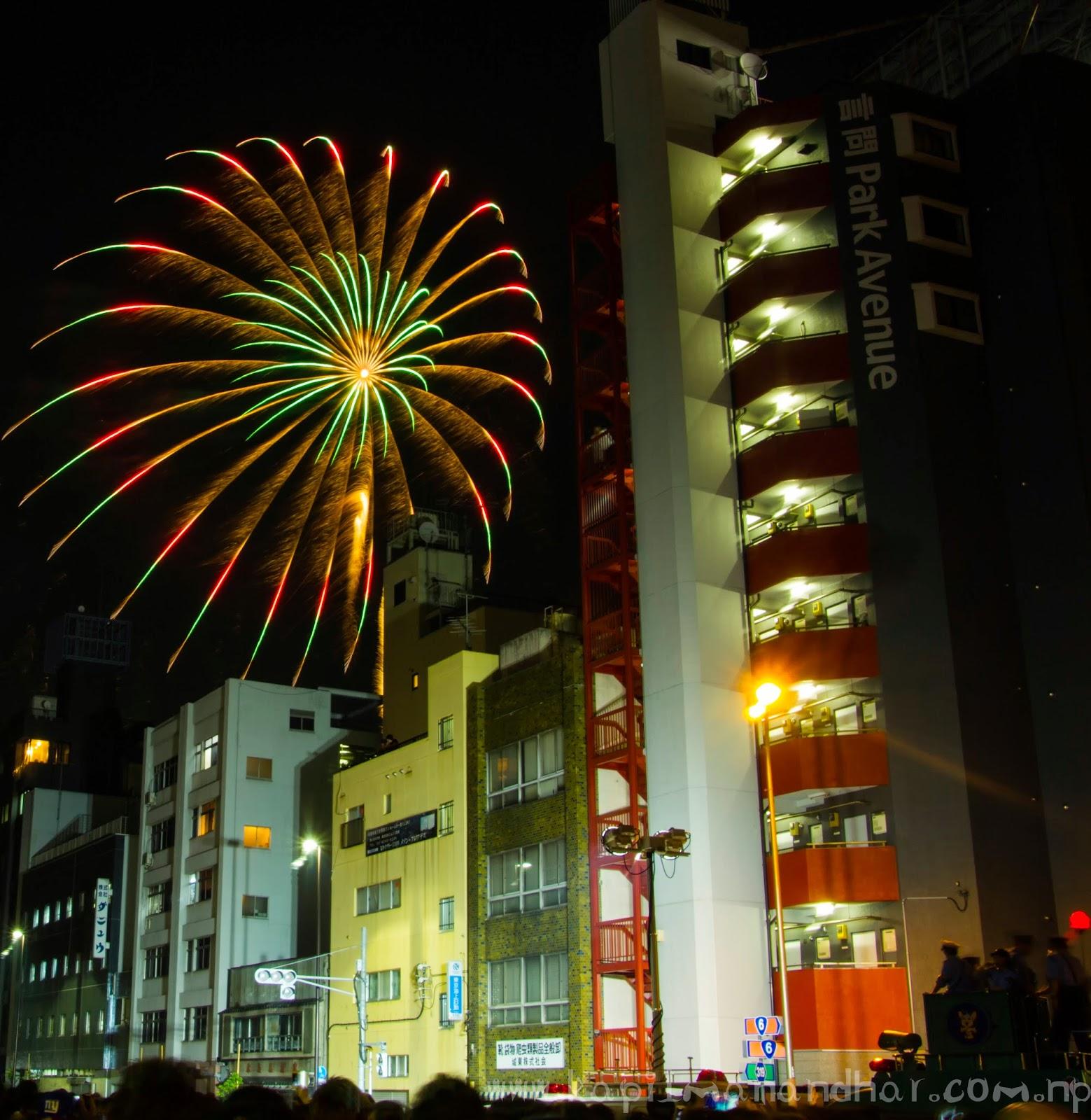 Fireworks Sumida River Tokyo 26th July, 2014 花火大会 2014年7月26日 東京 隅田川