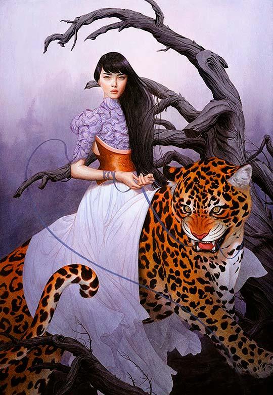 Pintura, ilustración y surrealismo de Tran Nguyen