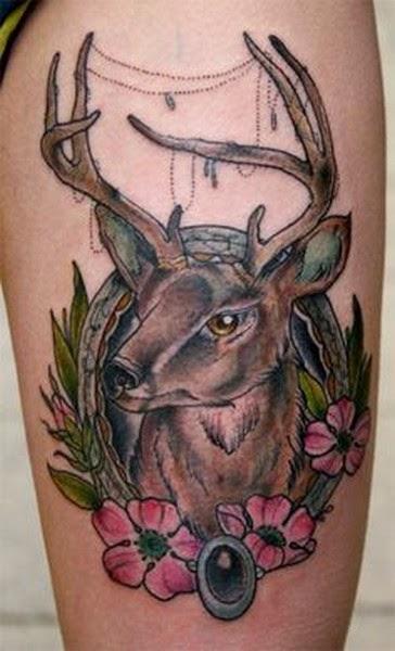 Gambar Tattoo Rusa