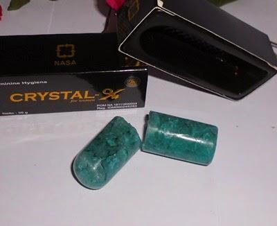 Crystal X Jatuh dan Patah