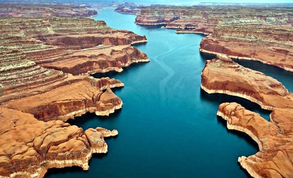Los lugares m s increibles del mundo 21 powell un for Como construir un lago artificial