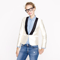 J. Crew Collection Tuxedo Jacket