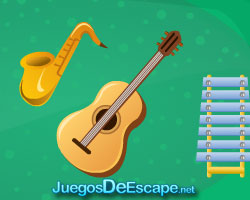solucion juego Musical Instrument Room Escape guia