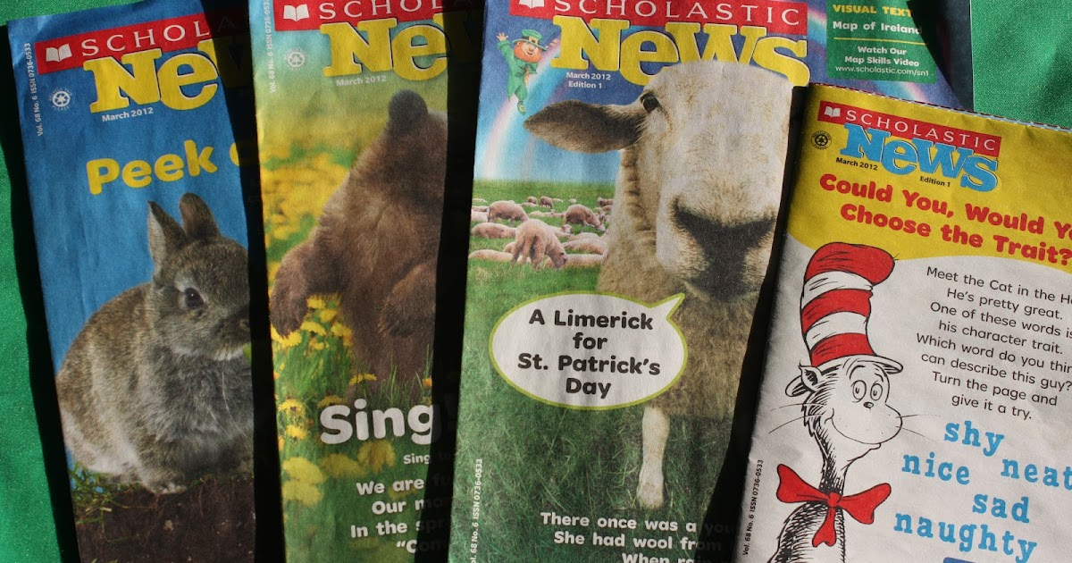 Scholastic News Edition 4 - captivating nonfiction, blended-learning resources, and a whole lot more to help you meet academic standards in grade 4.