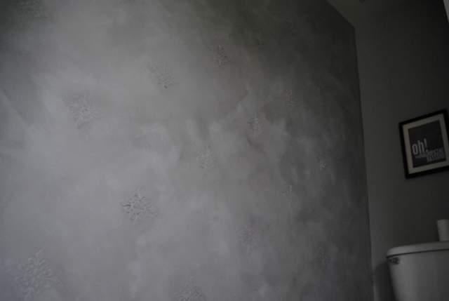 Aubreyplays beautiful faux concrete wall a tutorial How to finish a concrete wall