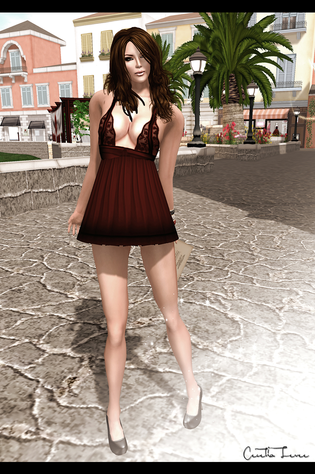 Freebies for cece september 2011 lady in red dress deliciosco design voltagebd Image collections