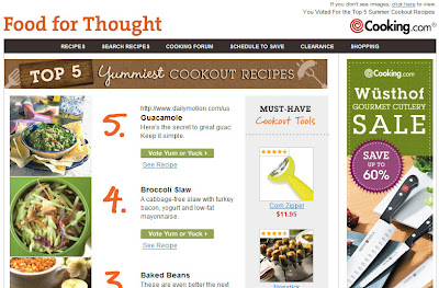 May 26, 2011 Cooking.com
