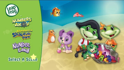 LeapFrog DVD, Leapfrog Learn Numbers and Shapes DVD