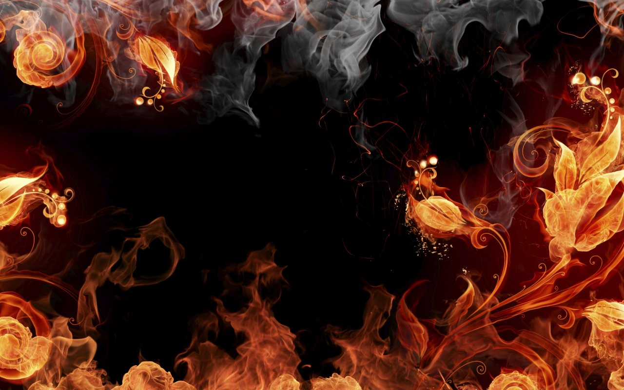 Fire Flower || Top Wallpapers Download .blogspot.com