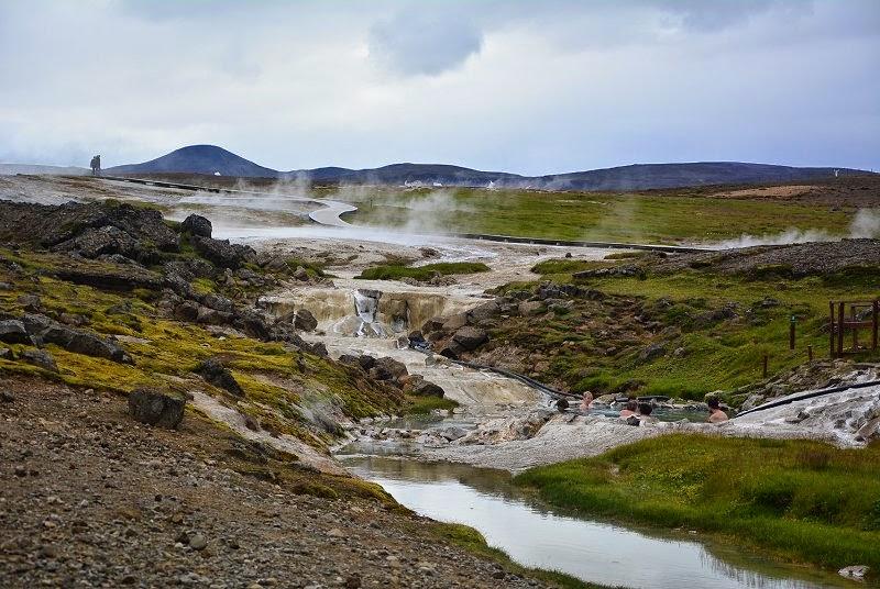 area geotermica Hveravellir islanda