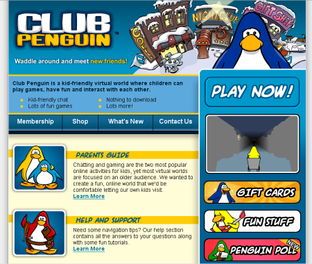 Old Blue Club Penguin Old Club Penguin Log in