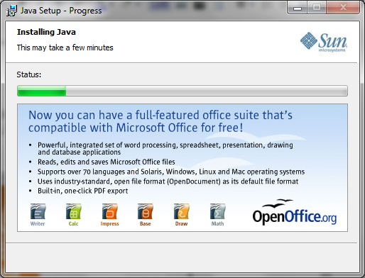 installere java windows 10