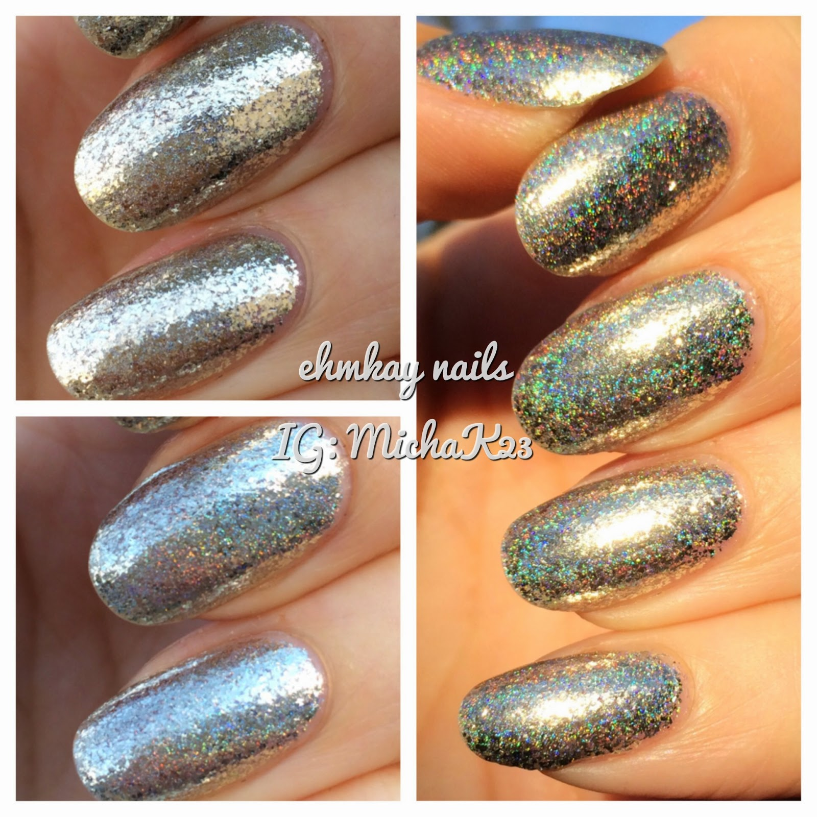 ehmkay nails: F.U.N Lacquer Payday Holo with NYC Bergdorf Goodman ...