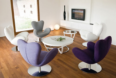 beautiful swivel chair