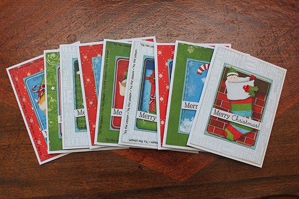 Tis The Season Christmas Cards by Juliana Michaels set