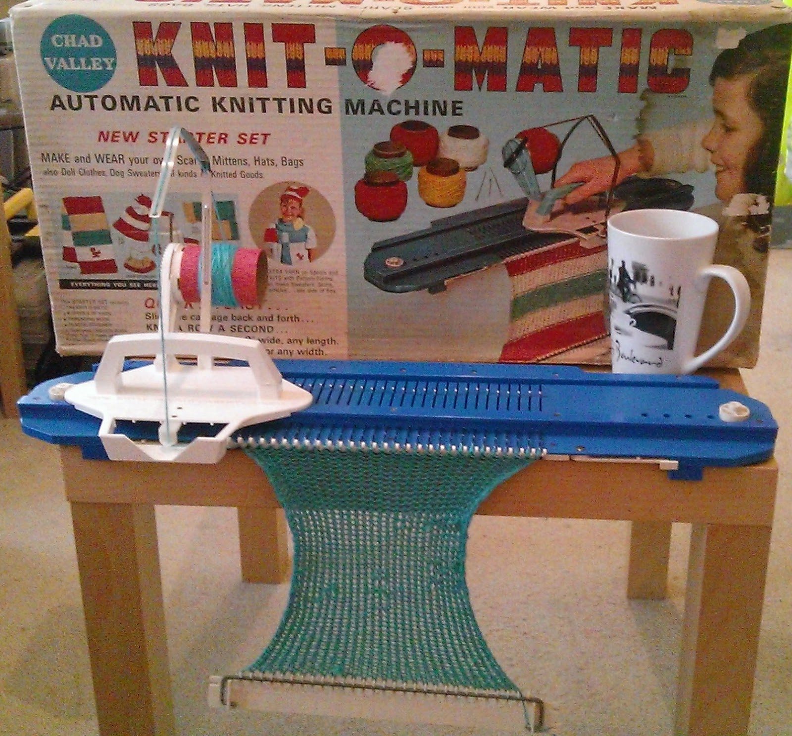 Knitting Equipment Uk : Marvellous mechanical yarn image to knitting machine