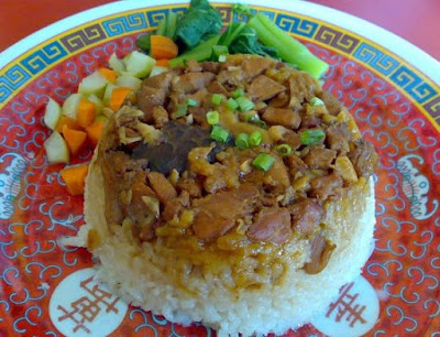 Resep Nasi Tim Ayam Jamur Sederhana Enak