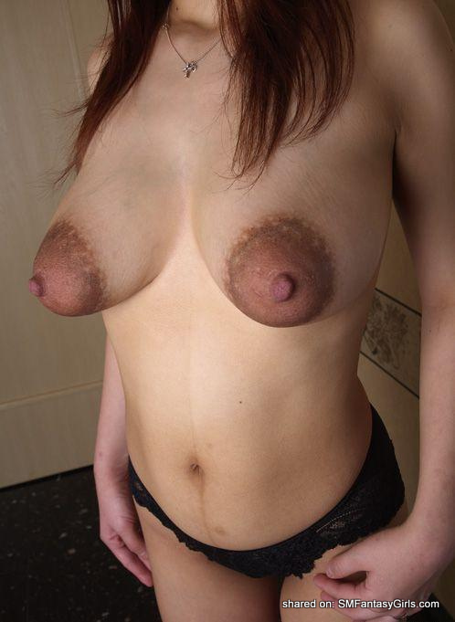 Areolas And Big Thick Suckable Nipples Her Darker