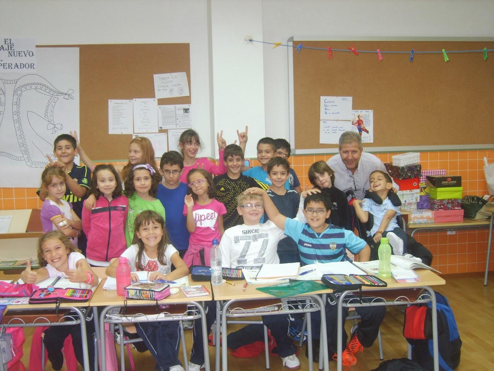 grupo de 3º C de Educación Primaria